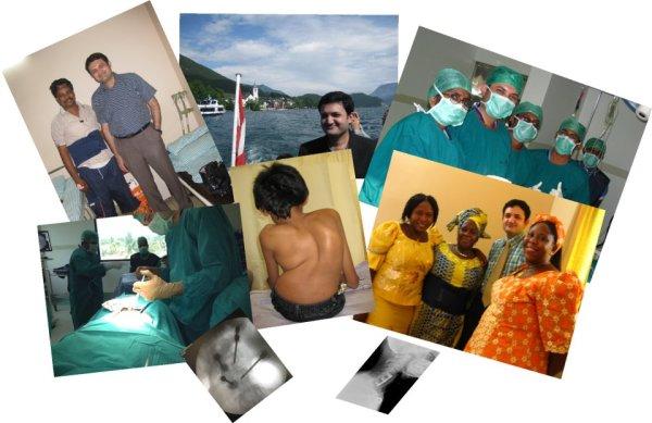 Dr.Easwar's Spine Collage
