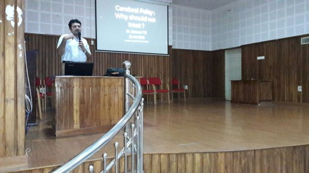 Cerebral palsy awareness lecture for paramedical personnel at ICCONS
