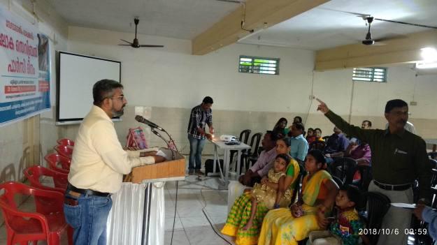 Cerebral Palsy inaugural address by Mr. Kalyanaraman, Palakkad, Sevabharathi